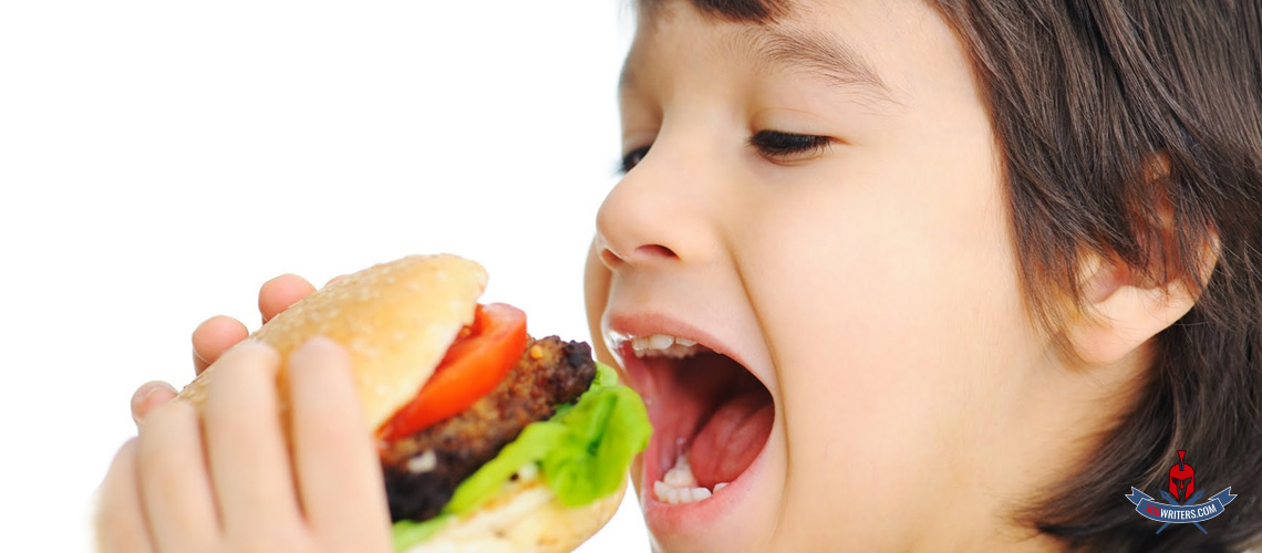 fast food effects on children